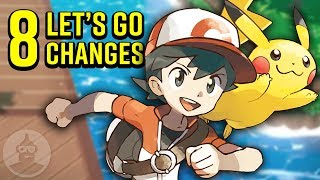 Download 8 Pokemon Let's Go Changes You Should Know! | The Leaderboard Video