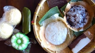Download Indonesian street food taste test challenge: Eating Indonesian desserts & snacks in Solo, Indonesia Video