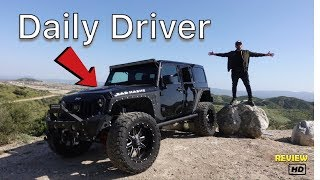 Download Daily Driving A Jeep Wrangler Jk Pros And Cons (MY Experience ) Video