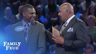 Download The Greens play Fast Money!   Family Feud Video