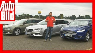 Download Opel Insignia Sports Tourer (2017) vs. Skoda Superb Combi und Ford Mondeo Video