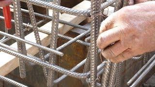 Download #5 Maasdijk 4 - ijzervlechten en beton voor het fundament Video