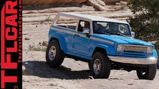 Download Jeep Chief Concept: Surfing Moab in Style Video