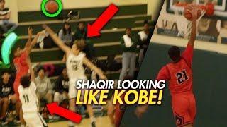 Download SHAQIR O'NEAL LOOKING LIKE KOBE! SHAQIR'S FIRST IN GAME DUNK! Video