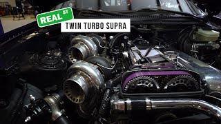 Download Twin 6466 Turbo 3.4L Stroker 2JZ-GTE Toyota Supra - Real Street Performance Video