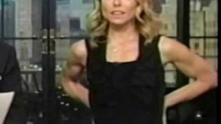 Download Kelly Ripa Armwrestling, 44 Pushups & More Video