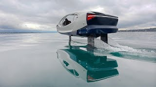 Download SeaBubbles testing the Fly By Wire control system Video