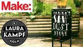 Download Laura Kampf's Sawdust Stove Video