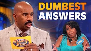 Download DUMBEST ANSWERS EVER! Steve Harvey is SPEECHLESS! | Family Feud Video