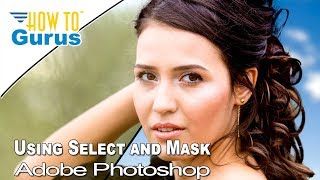 Download Change a Background using Select and Mask instead of Refine Edge in Adobe Photoshop CC 2018 Tutorial Video