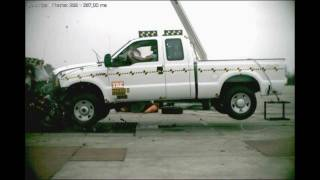 Download 2006 Ford F-250/F-350 Vs. 2002 Ford Focus NHTSA Full Frontal Impact Video