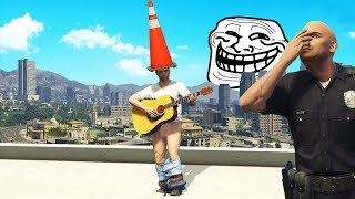 Download How To Annoy Cops Using a Guitar.. (GTA RP) Video