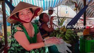 Download Vietnam || Thanh Binh Rural Market || Dong Thap Province Video