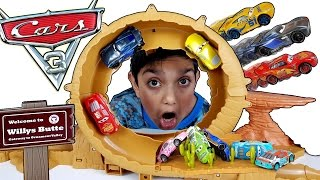 Download Disney Cars 3 Toys Willy's Butte Transforming Track set Lightning Mcqueen Video