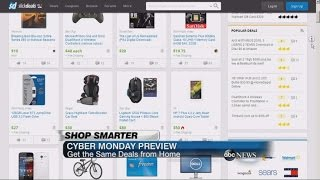Download CYBER MONDAY: Shop Smarter Video