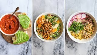 Download 3 MUST TRY Vegan Dinner Recipes in Under 30 Minutes Video