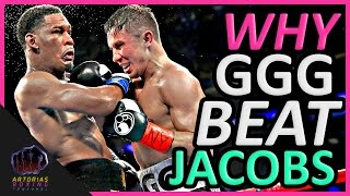 Download Why Gennady GGG Golovkin Beat Daniel Jacobs (Landed Punches Count) Video