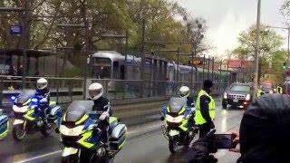 Download US President Barack Obama @ Hannover Herrenhausen : Convoi with the beast 24.04.2016 Video