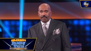 Download Steve Harvey Gets Intimidated by Pro Boxers - Celebrity Family Feud Video