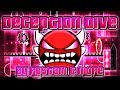 Download Geometry Dash - Deception Dive 100% GAMEPLAY Online (Rustam & more) INSANE DEMON Video