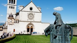 Download Assisi, Italy - Walking in the Footsteps of St Francis Video
