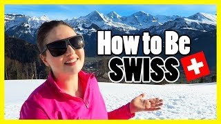 Download CULTURAL DIFFERENCES IN SWITZERLAND!! Social Etiquette & Fitting in Video