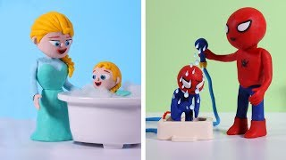 Download Diana and her friend to shower with dad and mom 💗 Cartoons For Kids Video