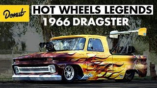Download Wicked fast 66' Dragster pickup wins in Phoenix | Hot Wheels Legends Tour Video