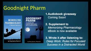 Download Memorizing Pharmacology Supplement Goodnight Pharm Audiobook Giveaway Coming Soon! Video
