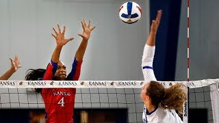 Download #7 Kansas falls to #9 Creighton, 3-0 // Kansas Volleyball // 9.9.17 Video
