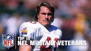 Download Top 10 Veterans in NFL History: Roger Staubach, Chuck Bednarik, Pat Tillman & More! | NFL Video