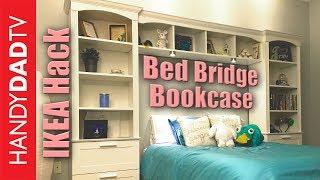 Download IKEA Hack Bed Bridge Bookcase Video
