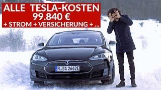 Download Was Kostet Das Tesla Model S Wirklich? Tesla Fahrer Nennt ALLE Kosten Video