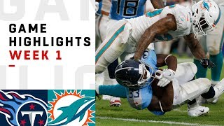 Download Titans vs. Dolphins Week 1 Highlights | NFL 2018 Video