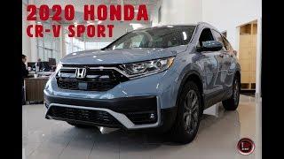 Download 2020 Honda CR-V Sport Walk Around with Bryan Weir | WHITBY OSHAWA HONDA Video