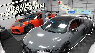 Download LIVING IN AN AUDI R8 FOR A DAY! *1,800 MILE ROAD TRIP* Video