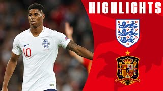 Download England 1-2 Spain | Last-minute Equaliser Controversially Ruled Out | Official Highlights Video