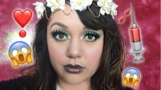 Download EMERALD MAKEUP LOOK + BLOODY HOTEL CHAT! Video