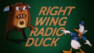Download Donald Duck Meets Glenn Beck in Right Wing Radio Duck Video