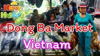 Download ตะลุยเวียดนามEP#8 Dong Ba Market ตลาดเช้าดองบา เมืองเว้ เวียดนาม Video