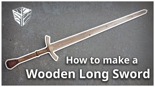 Download How to make a wooden long sword Video