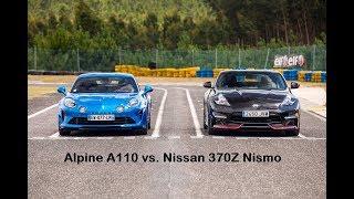 Download Alpine A110 Prèmiere Edition vs. Nissan 370Z Nismo Video