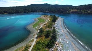 Download Droning over Vancouver Island, BC Canada Video