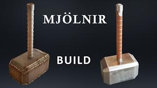 Download CRAZY SOLID Metal 91 lb Thor's Hammer Build Video