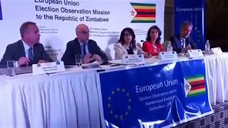 Download EU Observer Mission Final Election Report : 2018 Zim Elections Not Free and Fair (10/10/2018) Video