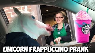 Download Drive Thru Pranks!! Unicorn Frappuccino Video