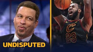Download Chris Broussard reacts to LeBron's epic dunk on Portland's Jusuf Nurkic | UNDISPUTED Video