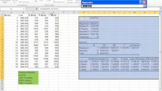 Download Using Multiple Regression in Excel for Predictive Analysis Video