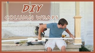 Download EASY, DIY FRONT PORCH COLUMN/POST WRAPS TUTORIAL! Video
