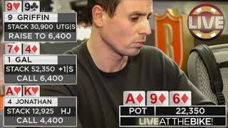 Download Flush vs Set vs Top Pair Cooler Flop ♠ Live at the Bike! Video